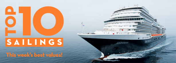 Holland America Line's Top 10 Sailings Promotion