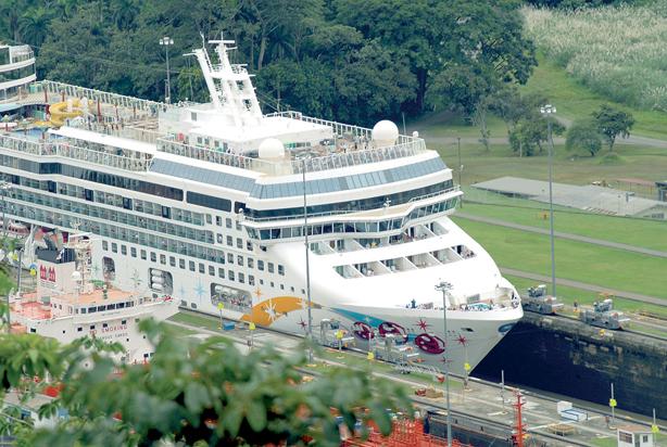 Cruise through Panama Canal