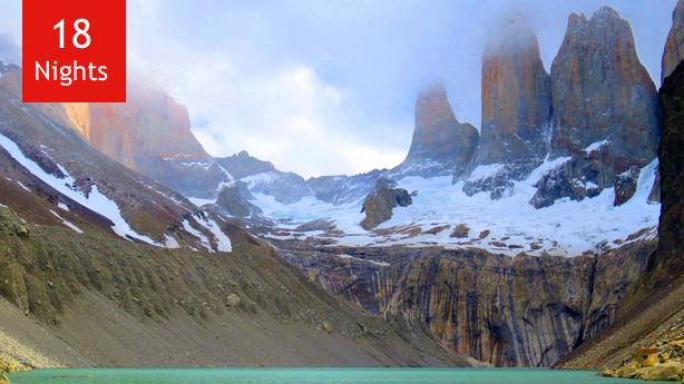 Patagonia, Chilean Fjords, Antarctica