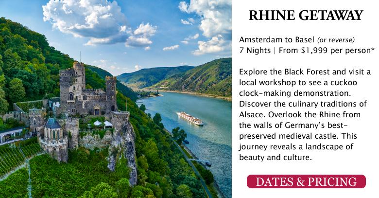 Rhine Getaway - Amsterdam to Basel