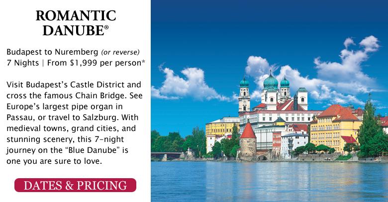 Romantic Danube - Budapest to Nuremberg