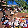 Todd Mall Sunday Markets, Alice Springs