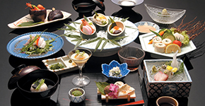 The Culinary Scene:<br />Kaiseki Cuisine