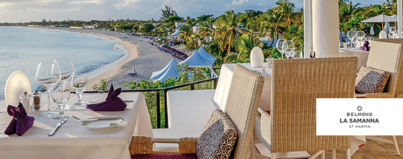 Win a 3-night stay for two at Belmond La Samanna in St. Martin!