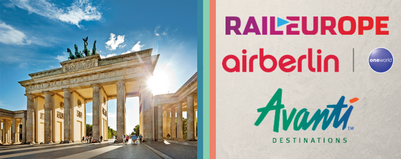 Win an Air-inclusive 7-night Germany Vacation for Two from airberlin, Avanti Destinations and Rail Europe