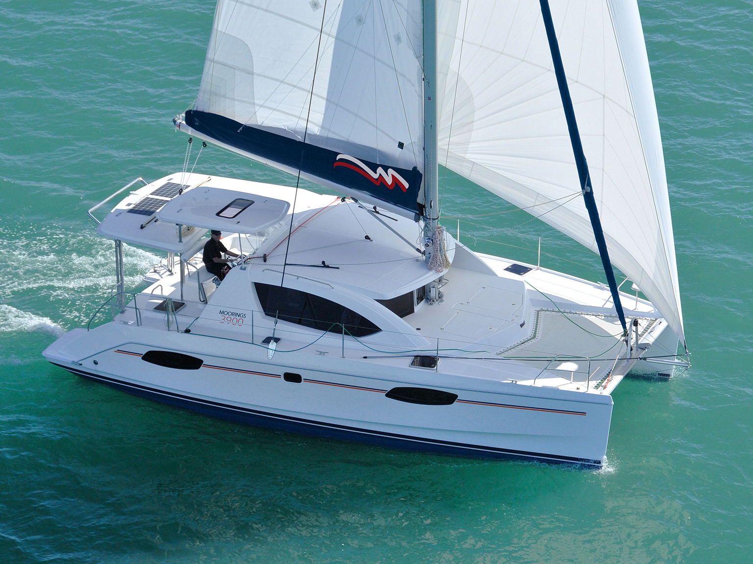 Sailing Catamaran: Moorings 3900 - 4 Cabin Catamaran
