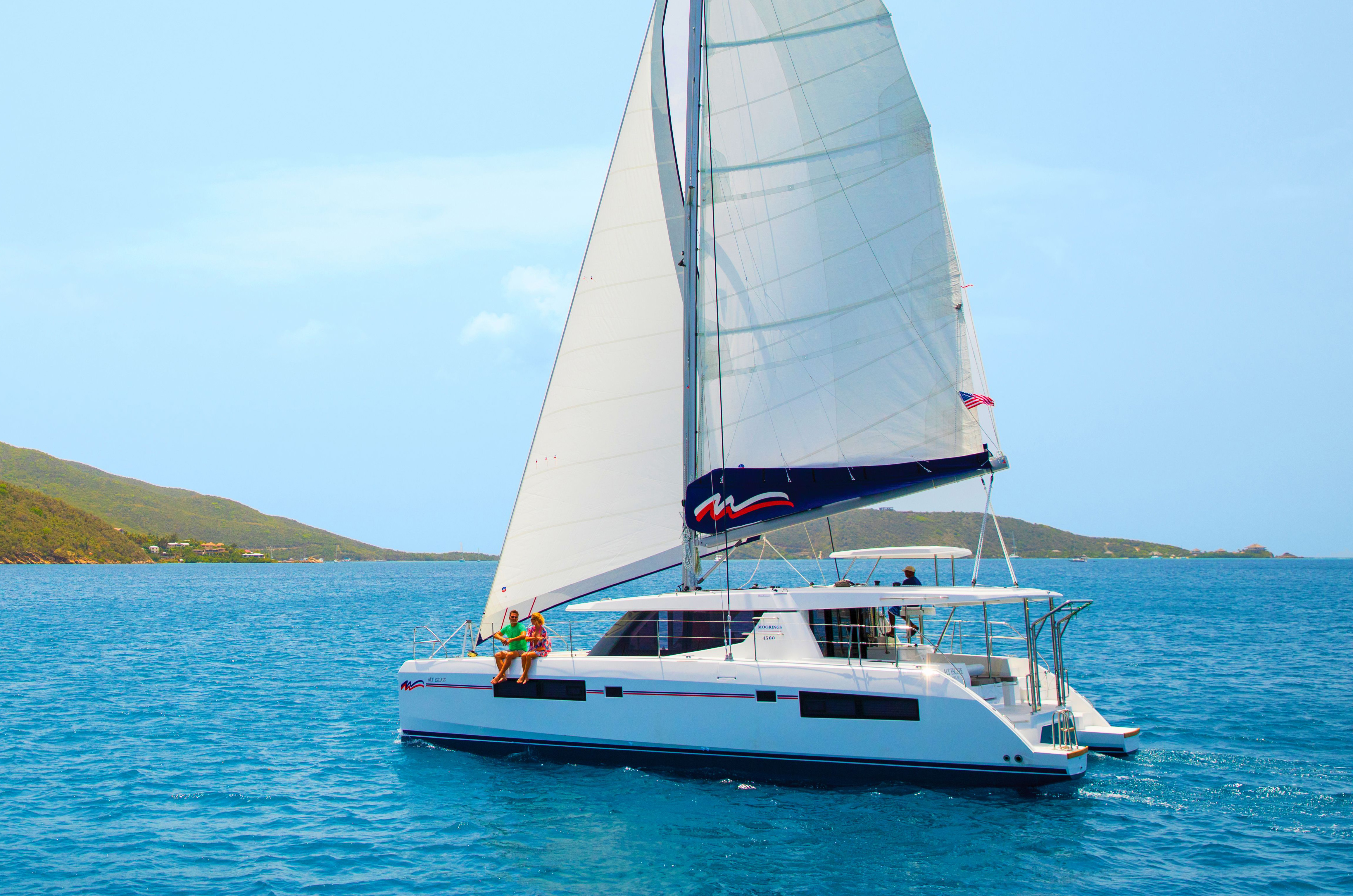Sailing Catamaran: Moorings 4500 - 4 Cabin Catamaran