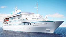 Cruises Around The World Crystal Cruises - Crystal World Cruises Esprit  - Deluxe Cruises Groups / Charters