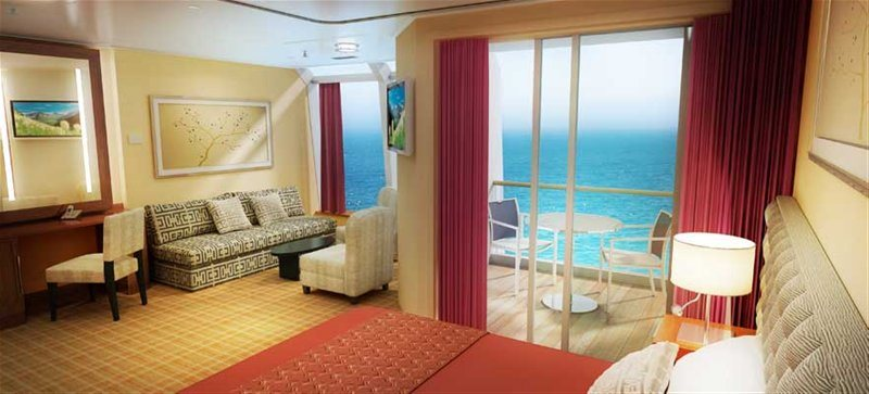 Penthouse Suite with Balcony