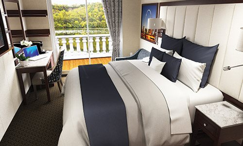 Deluxe Outside Staterooms With Open Veranda