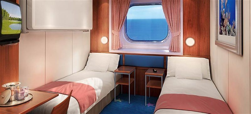 Sail Away Oceanview Stateroom Guarantee