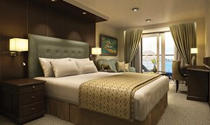 Concierge Level Verandah Stateroom