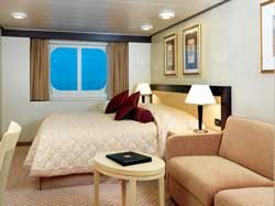 Oceanview Stateroom - Obstructed View