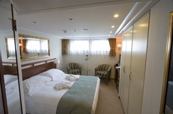 River View Stateroom with Fixed Windows