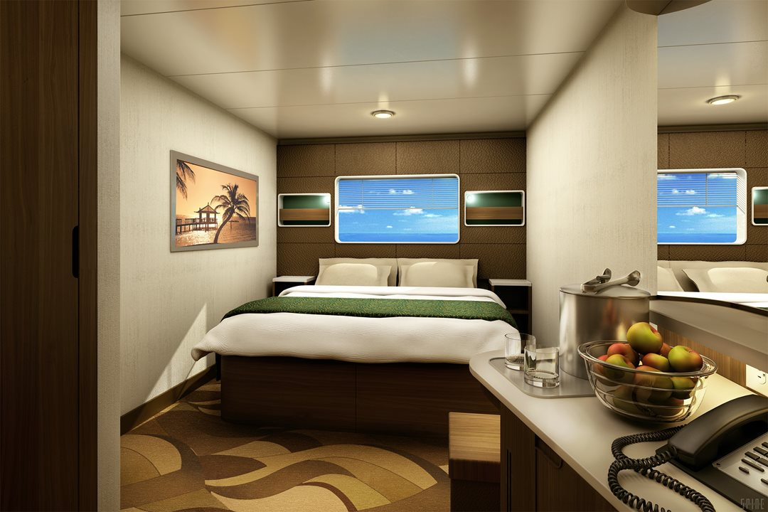 Oceanview Stateroom with Large Picture Window