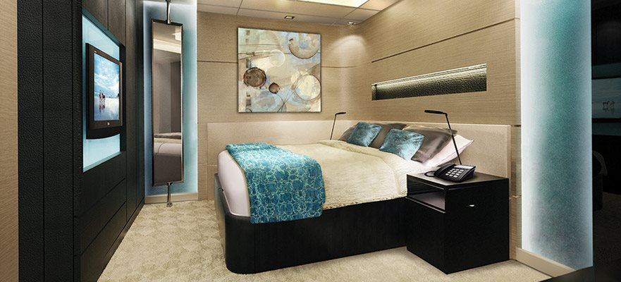 The Haven Aft-Facing Penthouse with Master Bedroom & Balcony