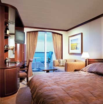 Deluxe PURE® Stateroom with Verandah