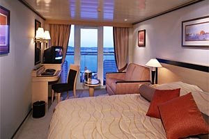 Balcony Stateroom - Obstructed View