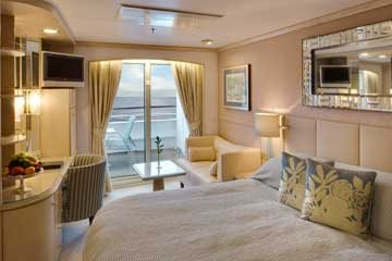 Deluxe PURE® Stateroom with Verandah - Slightly Limited View