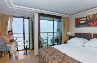 River View Stateroom with Twin Balcony