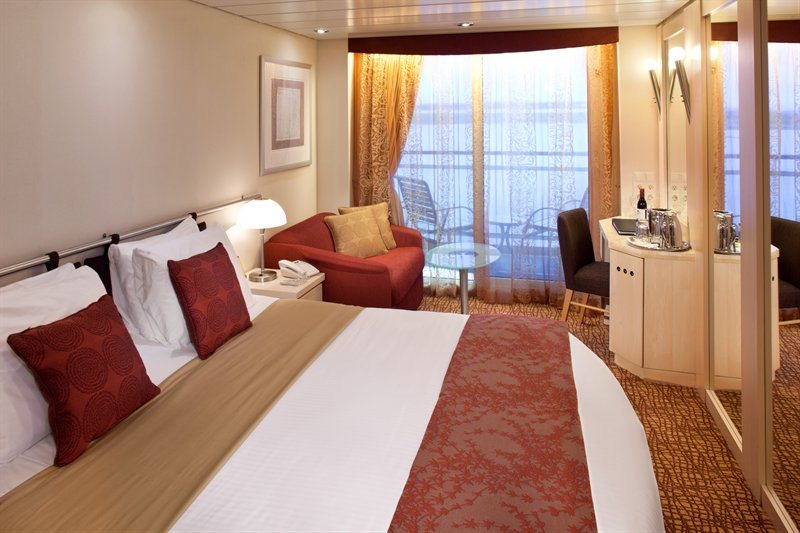 Veranda Stateroom Cruise-Only Guarantee