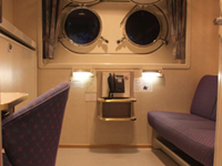 Polar Outside Cabin - Porthole