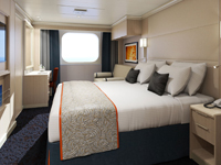 Large Oceanview Spa Stateroom
