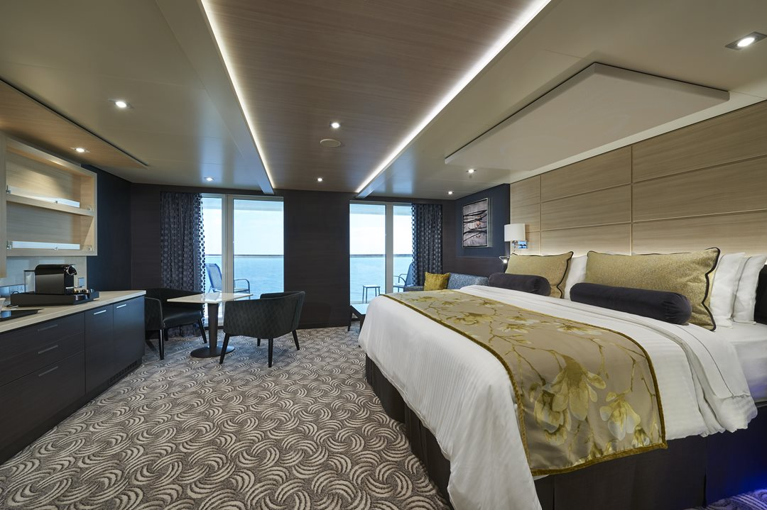 Concierge Family Suite with Balcony