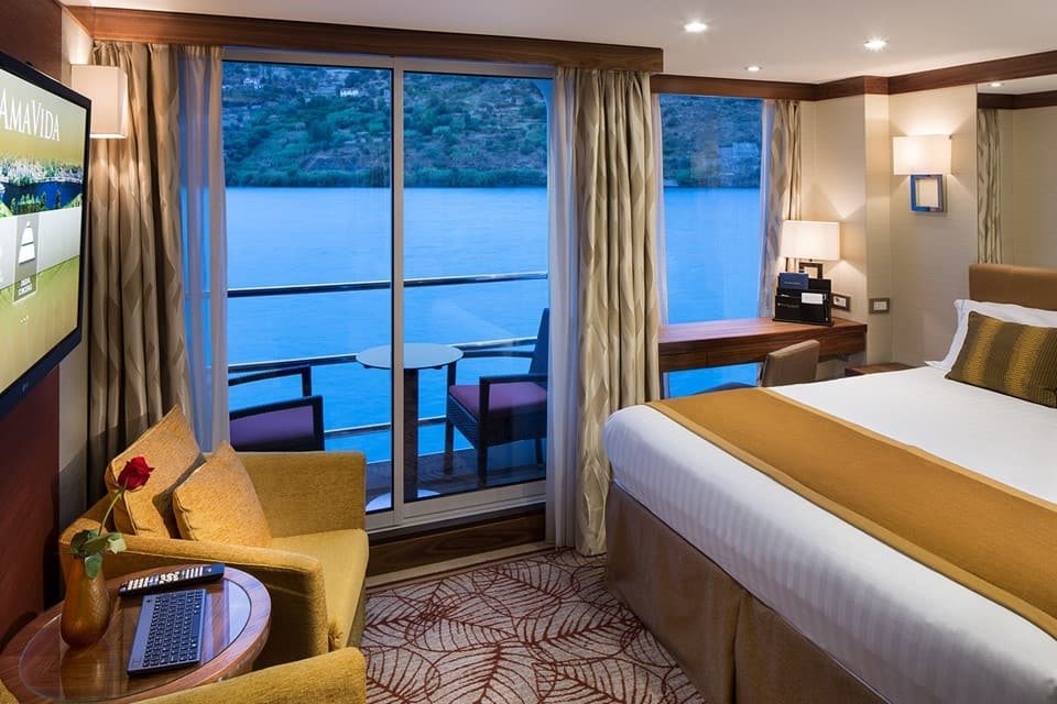 River View Stateroom with French Balcony