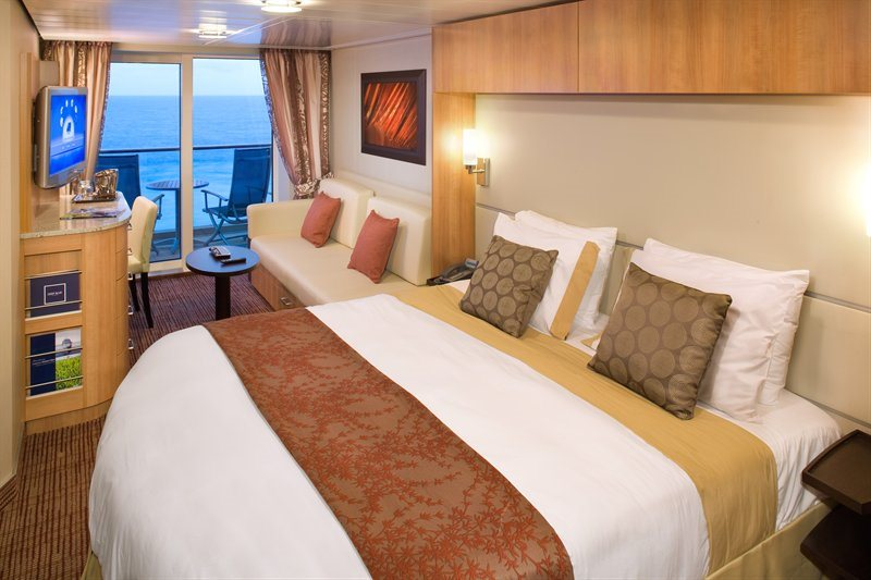 Concierge Class Stateroom with Veranda