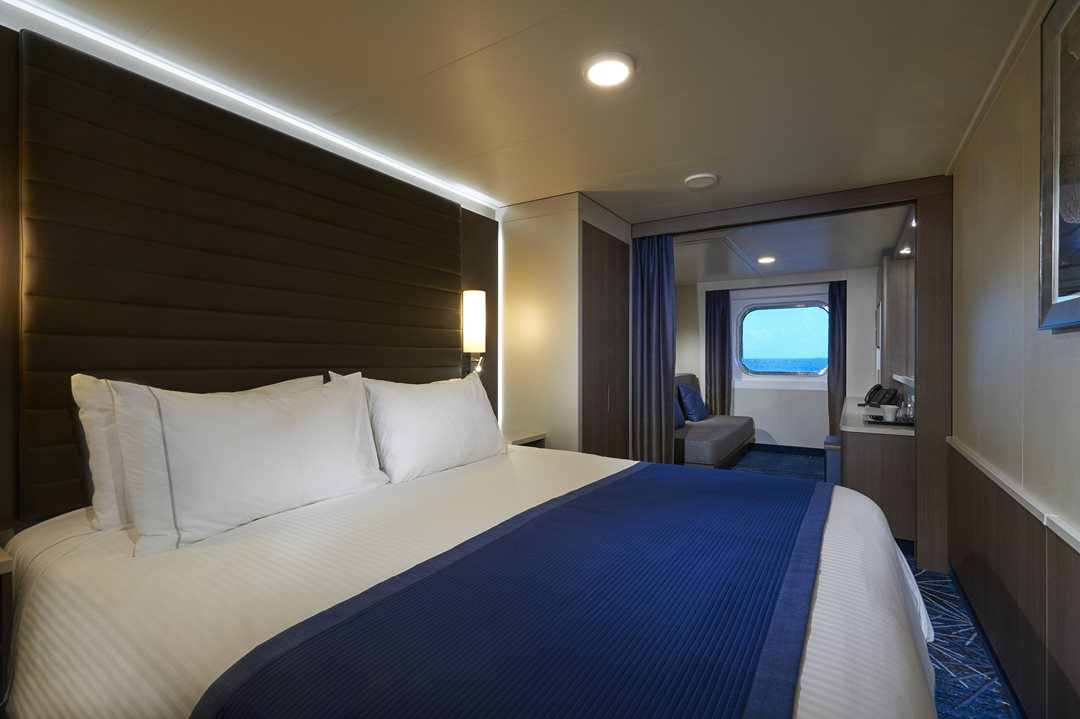 Family Oceanview Stateroom with Large Picture Window