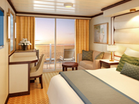 Obstructed Deluxe Balcony Stateroom