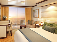 Connecting Deluxe Balcony Stateroom
