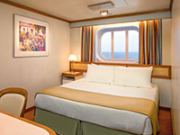 Oceanview Stateroom with either Window or Portholes