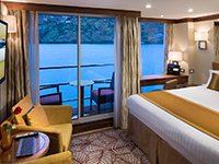 River View Stateroom with Balcony
