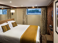 River View Stateroom with Panoramic Window