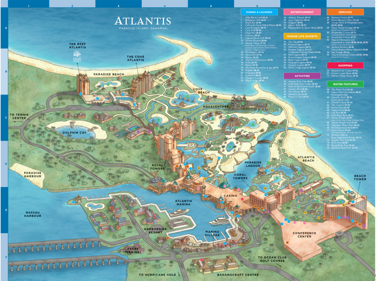The Reef Atlantis