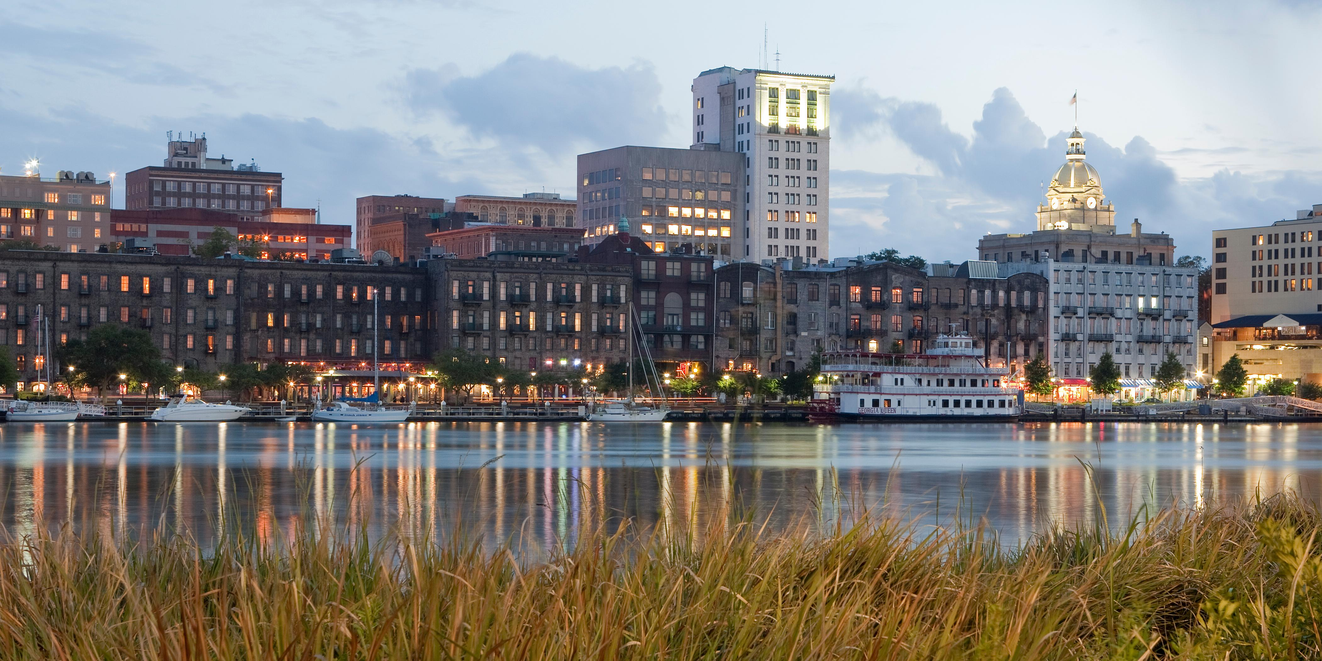 Savannah River Skyline