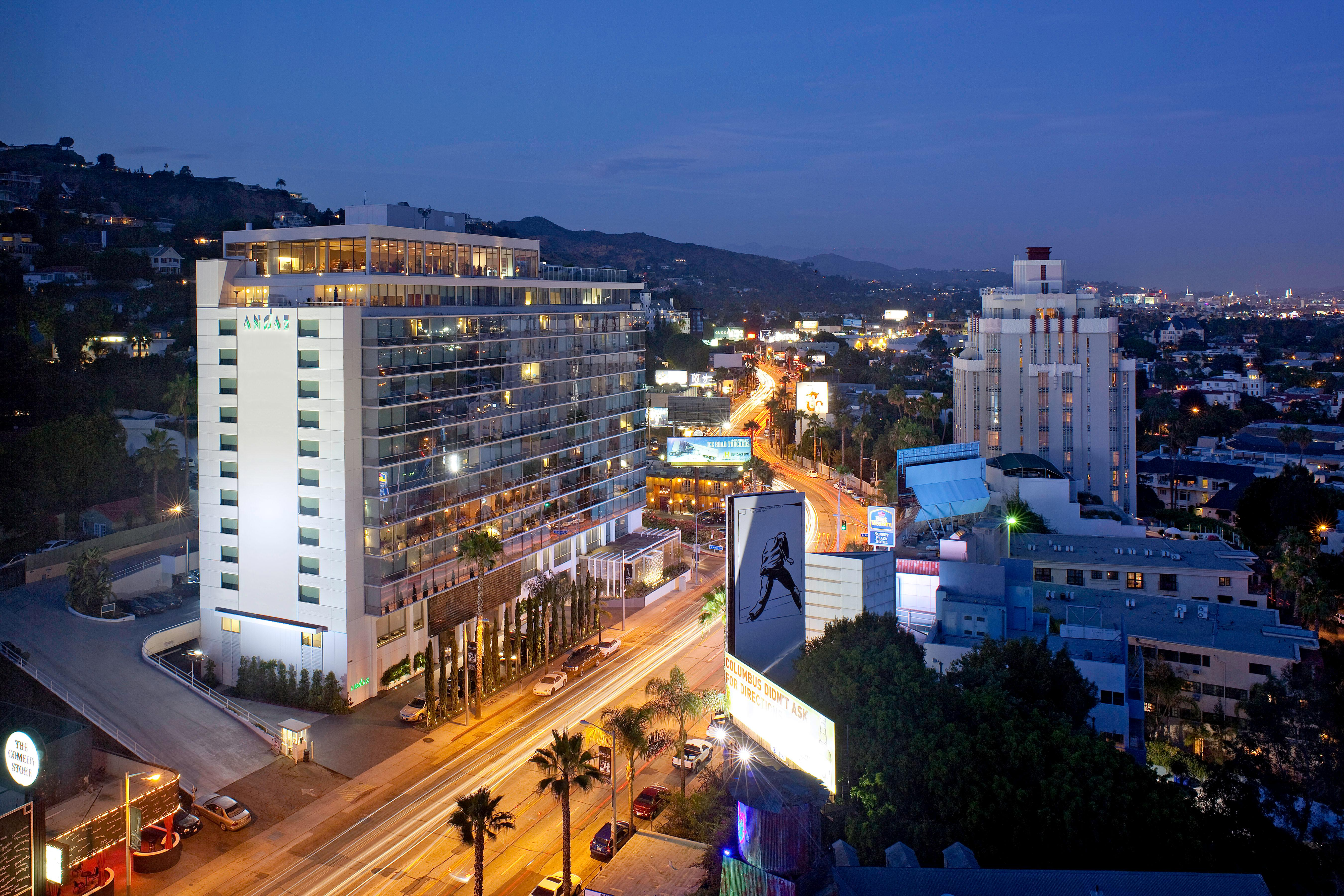Andaz West Hollywood Exterior LAXSS