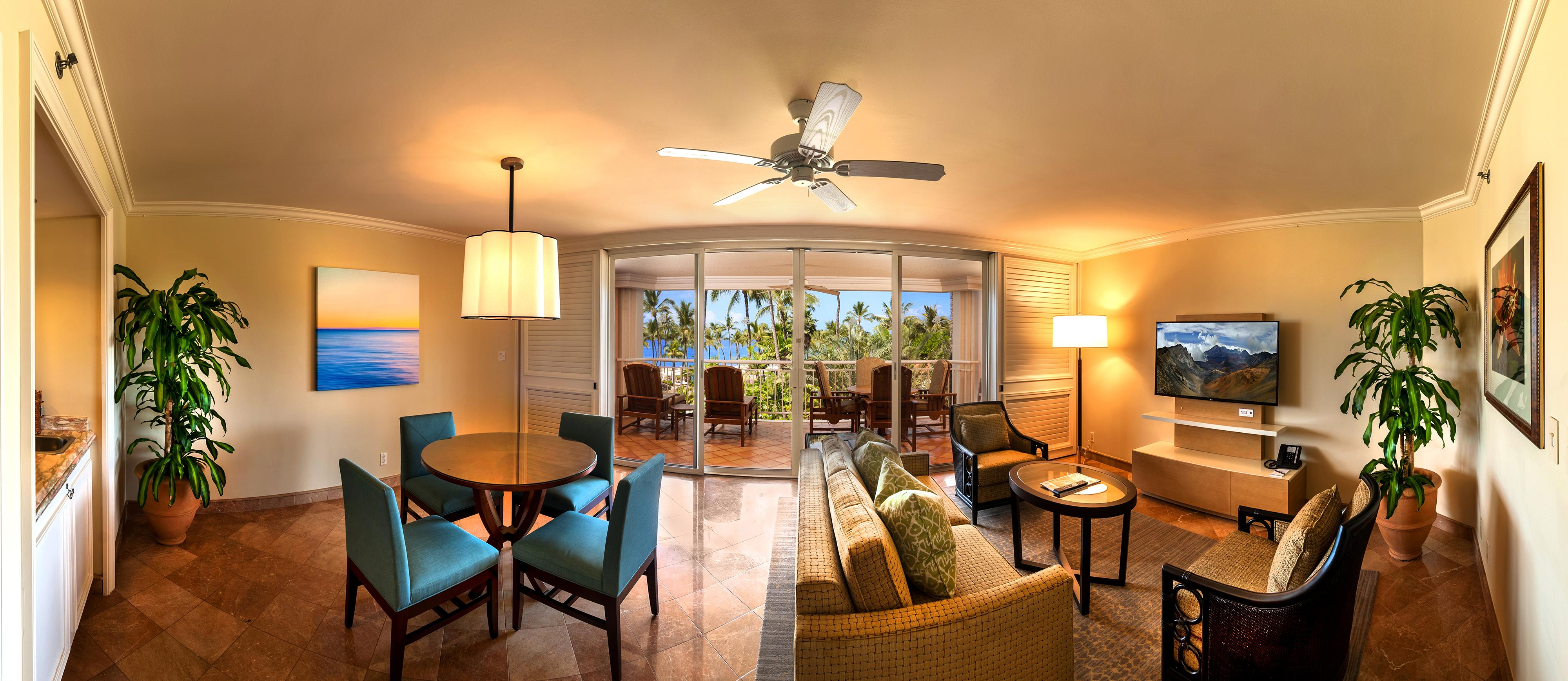 Alii Suite Living Area