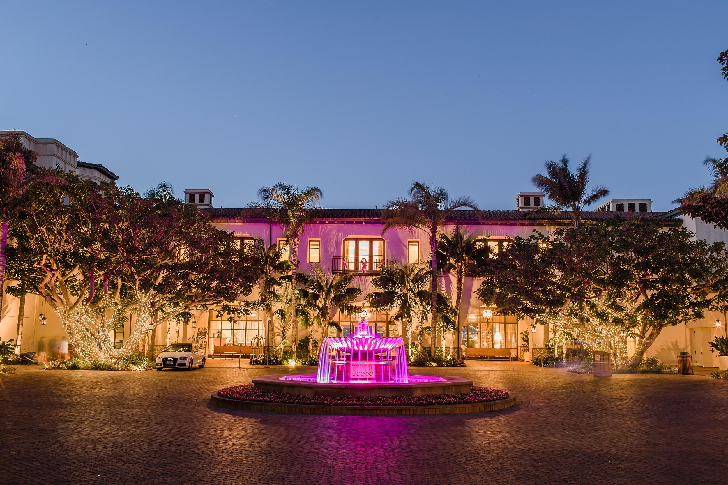 Terranea Turns Pink in October in honor of Breast Cancer Awareness Month