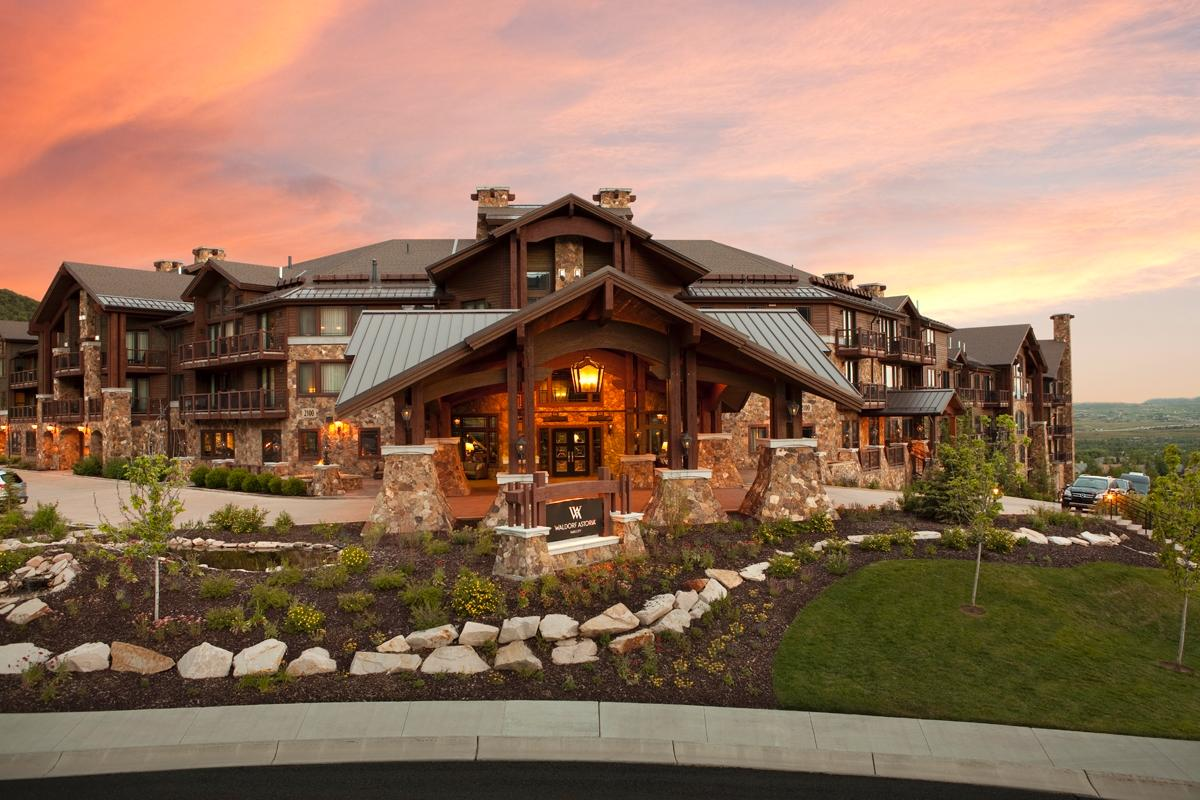 Enjoy Park City's four beautiful seasons at Waldorf Astoria Park City.