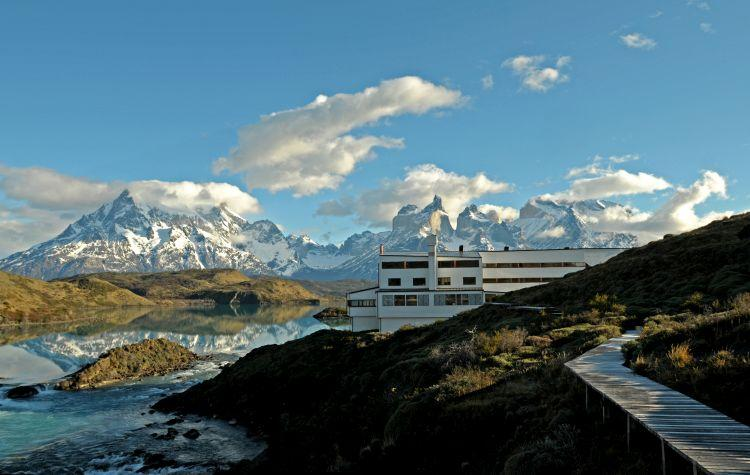 The only luxury hotel within Torres del Paine National Park