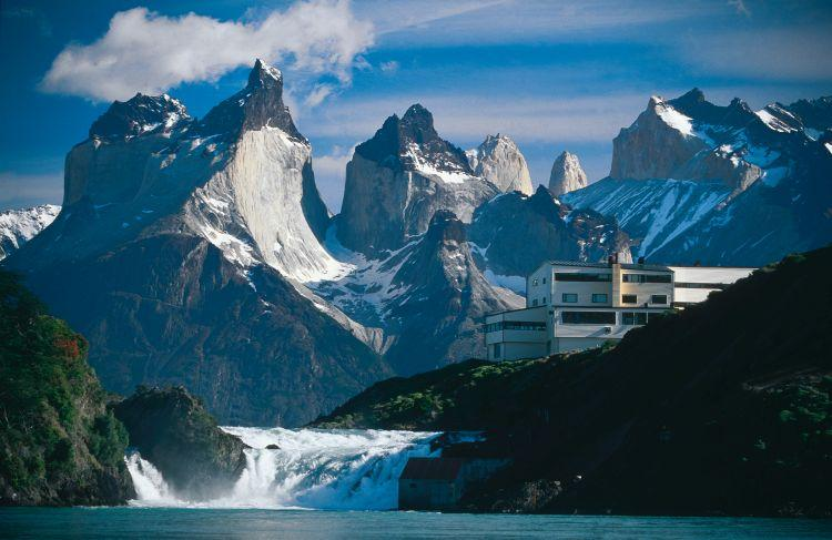 In the heart of Torres del Paine and in the shores of Pehoe lake