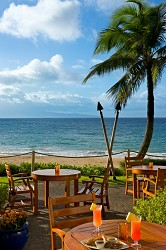 Ritz Carlton Maui - Beach House Where you can dine and watch the sunset