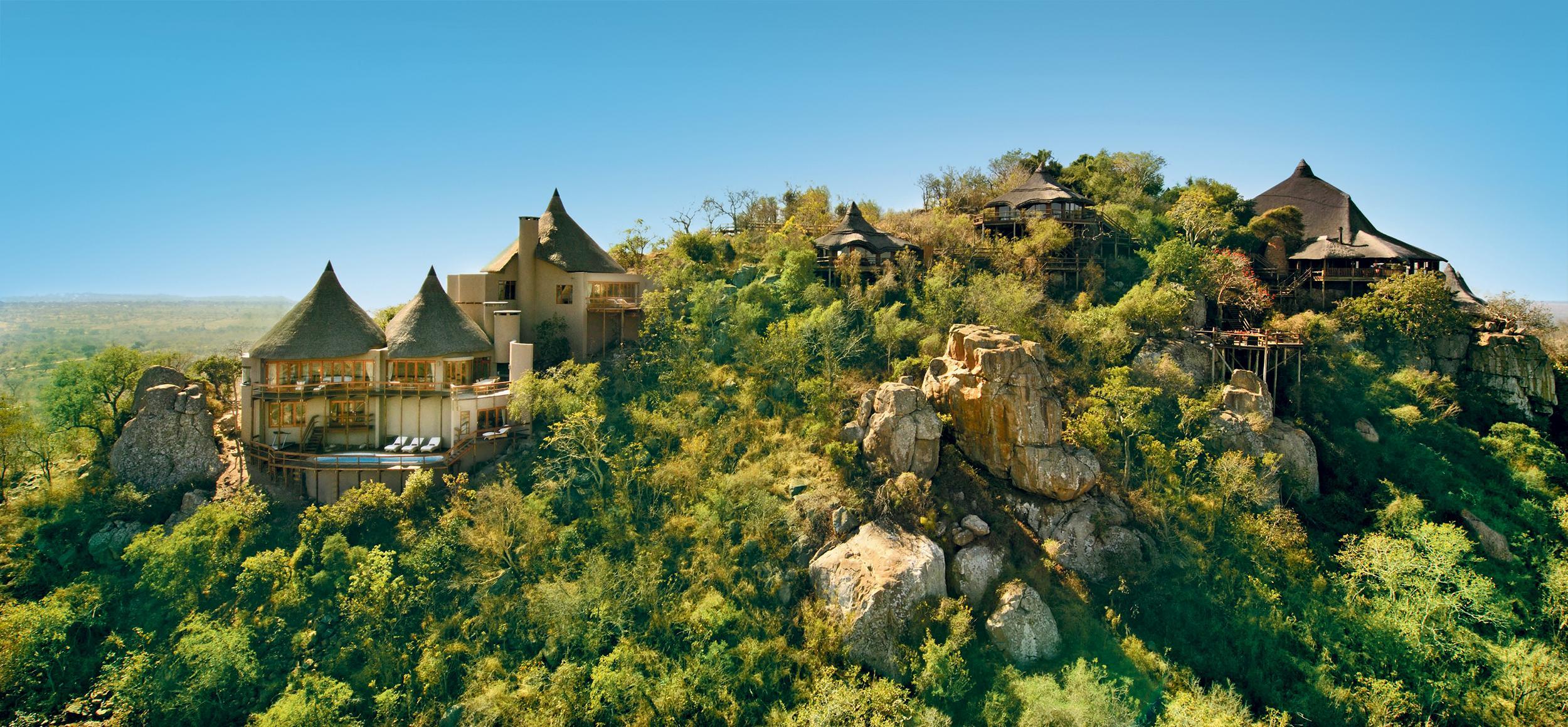Ulusaba Rock Lodge-Aerial