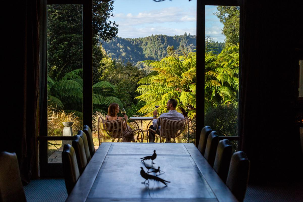 Treetops Lodge Dining Forest View 2019