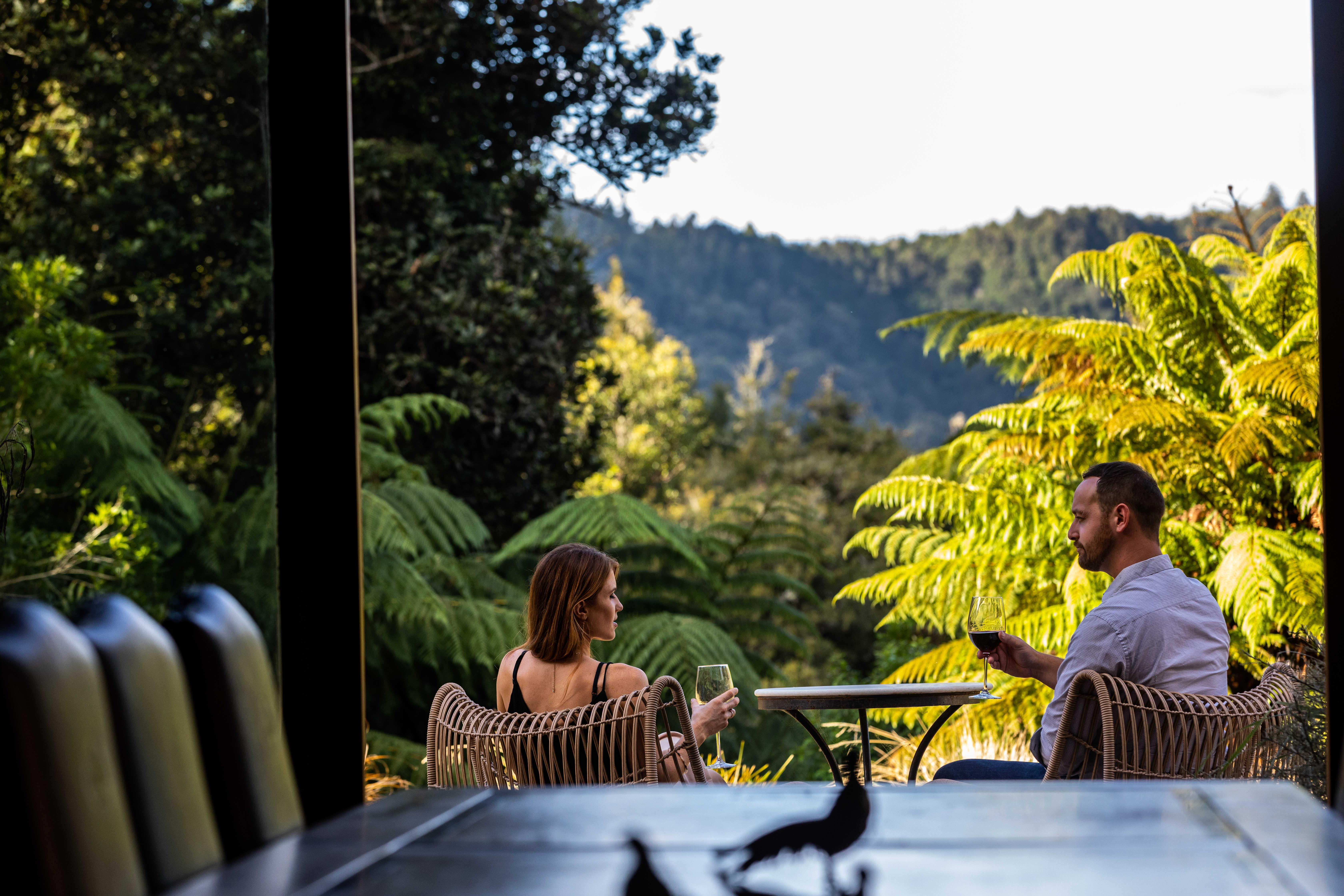 Treetops Lodge Dining View 2019