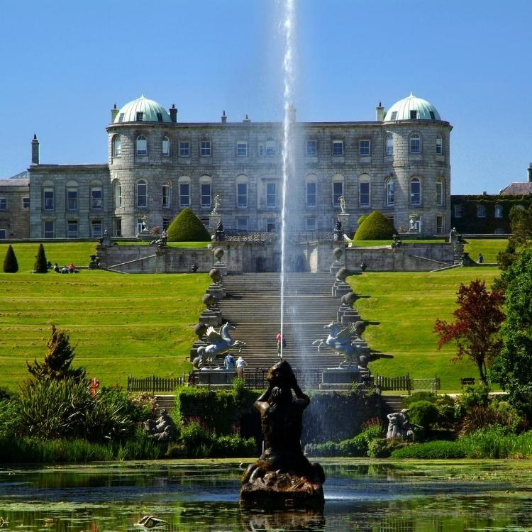 Powerscourt House, Gardens