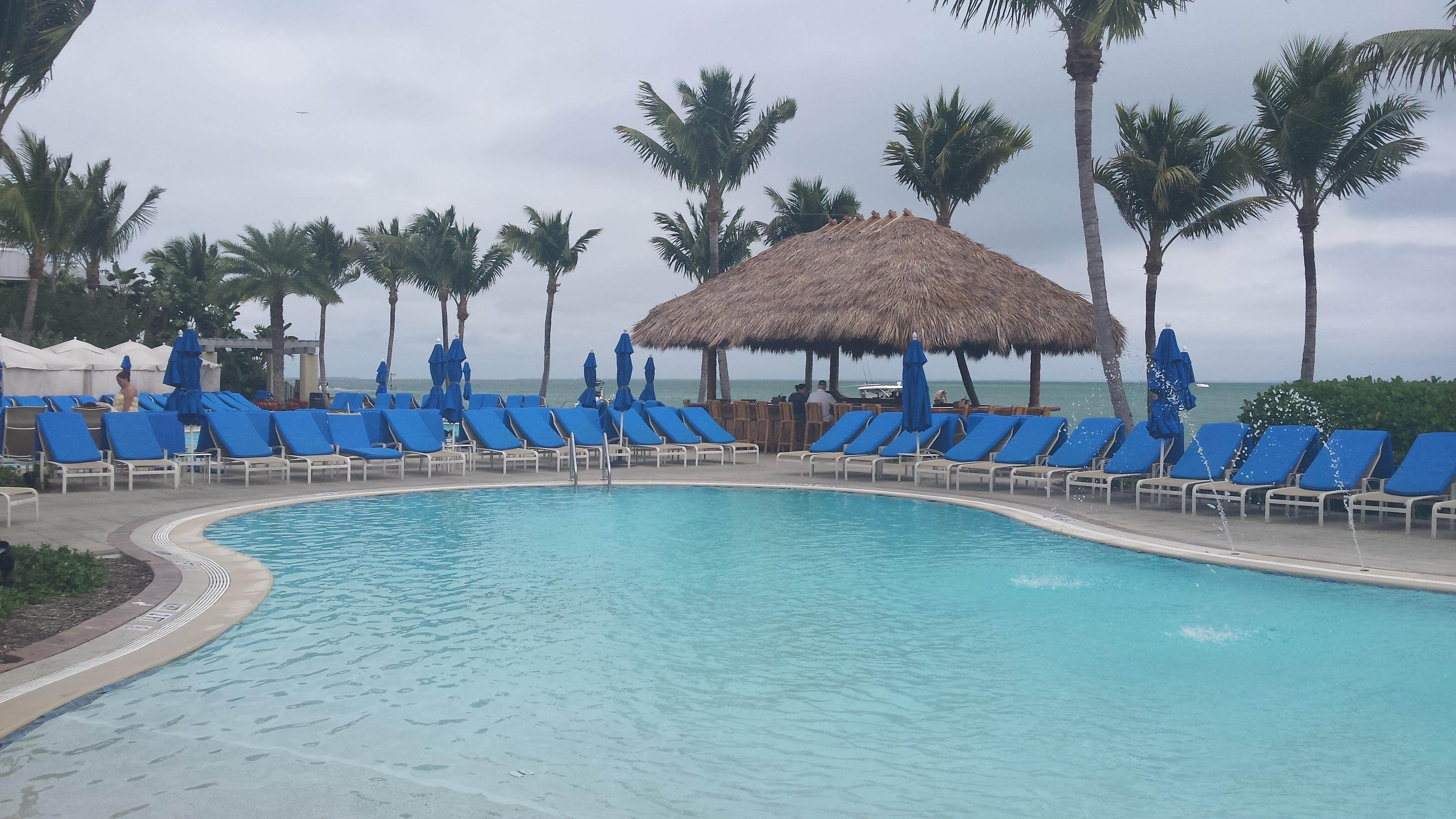 The Resort Pool Complex is home to the Pointe Restaurant, Crooked Snook Tiki Bar, three pools including H2Whoa! water slides.